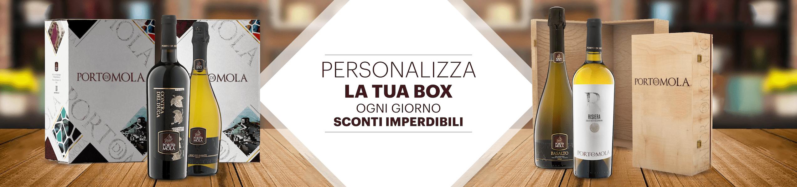 Personalizza La Tua Box - Scegli I Vini Che Ti Piacciono e Componi La Confezione